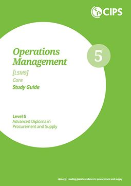 L5M9 Operations Management (ELECTIVE) - Study Guide