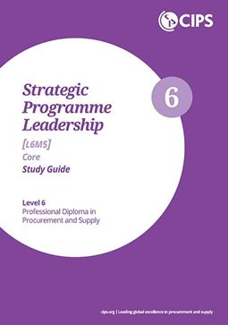 L6M5 Strategic Programme Leadership (ELECTIVE) - Study Guide