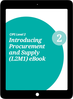 L2M1 Introducing Procurement and Supply (CORE) Study Guide - eBook