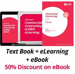 L4M3 Commercial Contracting (CORE) - Study Guide, eBook and eLearning