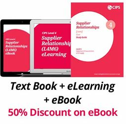 L4M6 Supplier Relationships (CORE) - Study Guide, eBook and eLearning