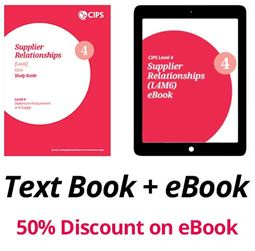 L4M6 Supplier Relationships (CORE) - Study Guide and eBook