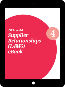 L4M6 Supplier Relationships (CORE) - eBook