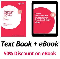 L4M8 Procurement and Supply in Practice (CORE) - Study Guide and eBook