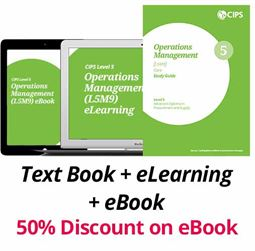 L5M9 Operations Management (ELECTIVE) - Study Guide, eBook and eLearning