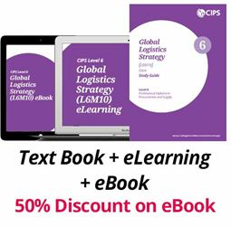 L6M10 Global Logistics Strategy (ELECTIVE) - Study Guide, eBook and eLearning