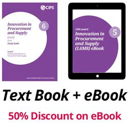 L6M8 Innovation in Procurement and Supply (ELECTIVE) Study Guide and eBook