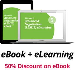 L5M15 Advanced Negotiation (ELECTIVE) - eBook and eLearning