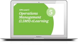L5M9 Operations Management (ELECTIVE) - eLearning