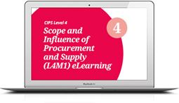 L4M1 Scope and Influence of Procurement and Supply (CORE) - eLearning
