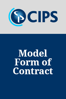 Model Form of Contract for the Support and Maintenance of Bespoke Software