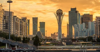 Astana, the capital of Kazakhstan, which is ranked fourth for retail potential © 123RF
