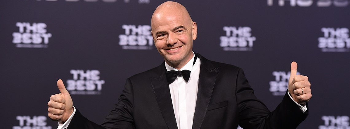 FIFA's Gianni Infantino has led the move to to increase the World Cup from 32 to 48 teams from 2026 onwards