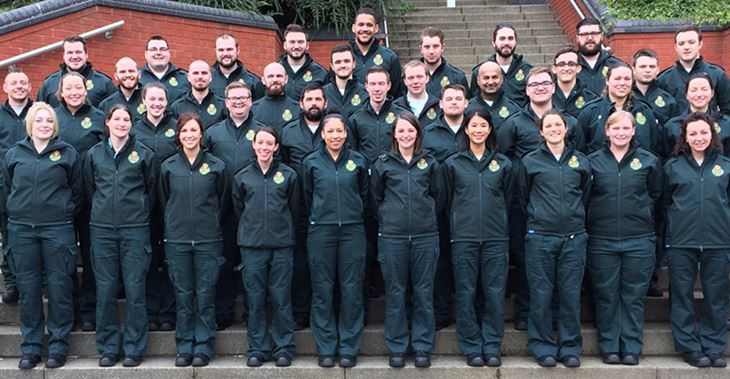 The new uniform includes a new crest and standard colour © West Midlands Ambulance Service NHS FT