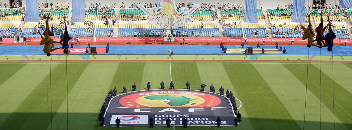 The opening ceremony of the African Cup of Nations was boycotted by many © AP Photo/Sunday Alamba​/PA Images