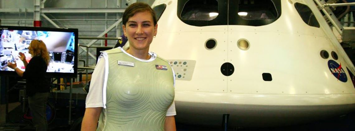 Israeli start-up StemRad has designed a vest to protect against radiation on Mars © StemRad