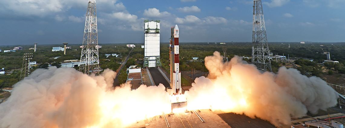 ISRO successfully launched 104 nano satellites into orbit © ISRO