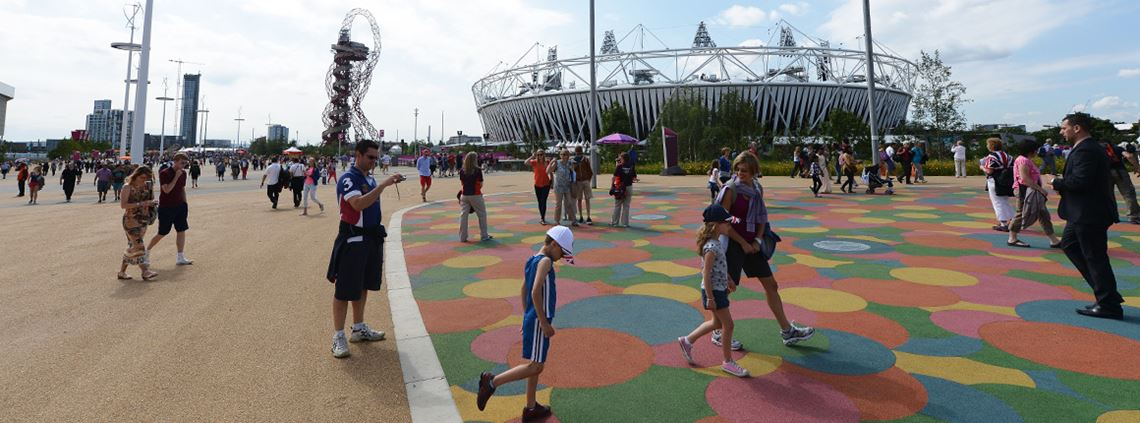 Construction of the Olympic park changed everything as clients started insisting on standards of sustainability said Shaun McCarthy, SCSS chair ©PA Images