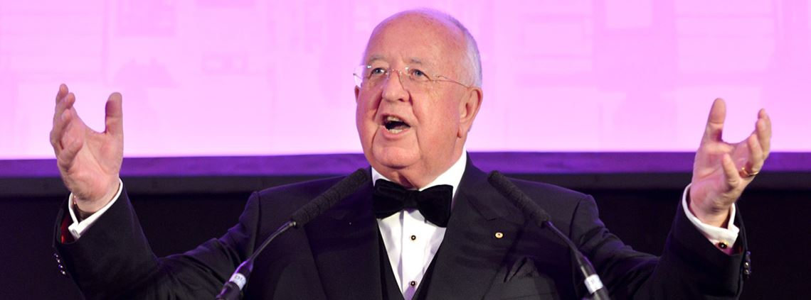Former CEO of Rio Tinto, Sam Walsh, was addressing CIPS Annual Dinner guests ©LeoWilkinson