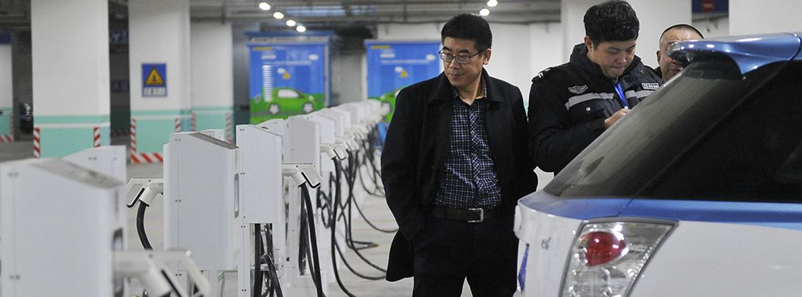 China's government policies aim to boost local battery production © Zuma Press/PA Images
