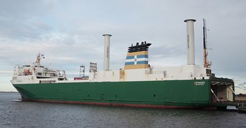 A North Sea ferry has already successfully trialled the technology ©Norsepower Oy Ltd