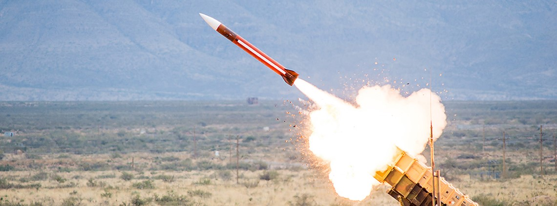 $3m Patriot missile was used to shoot down a consumer drone © Raytheon