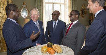 Prince Charles said the private sector had a critically important role in protecting rainforest © The Sustainable Trade Initiative
