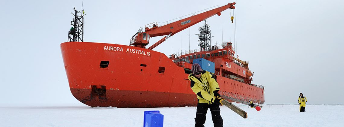 Aurora Australis, currently servicing the Australian Antarctic Territory, is reaching the end of its usable life ©PA Images