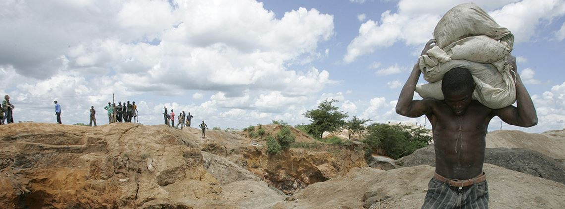 Sourcing 3TG minerals carries risk in and outside the DR Congo ©PA Images