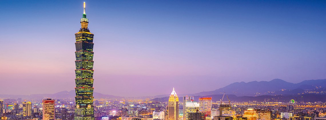 Made in Taiwan: Taipei is a major high-tech manufacturing hub © 123RF