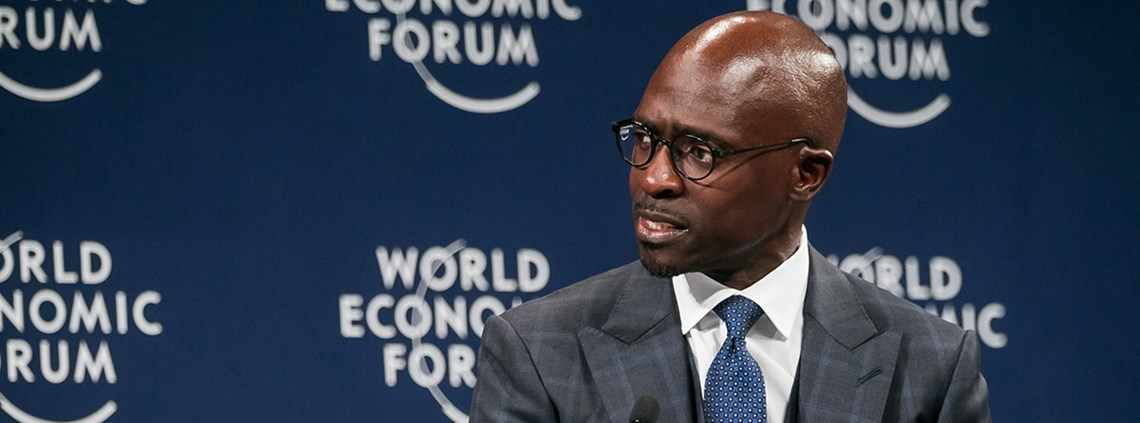 SA finance minister Malusi Gigaba says improving infrastructure is vital to intra-African trade © WEF