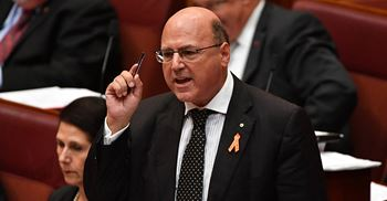 Industry Minister Arthur Sinodinos said the money was aimed at South Australia and Victoria ahead of Holden shutting down in October © AAP Image/Mick Tsikas/PA Images