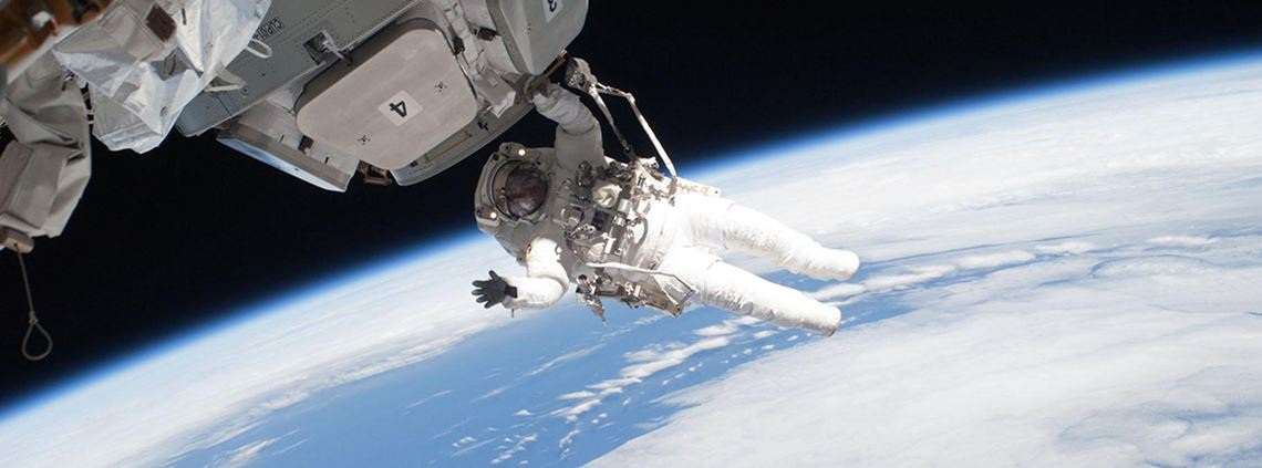 NASA's spacesuits were developed more than 40 years ago © NASA