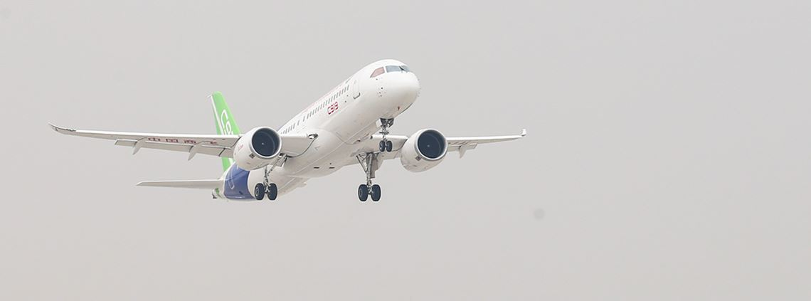 COMAC's C919 will cost around $50m © Xinhua/Ding Ting/PA Images