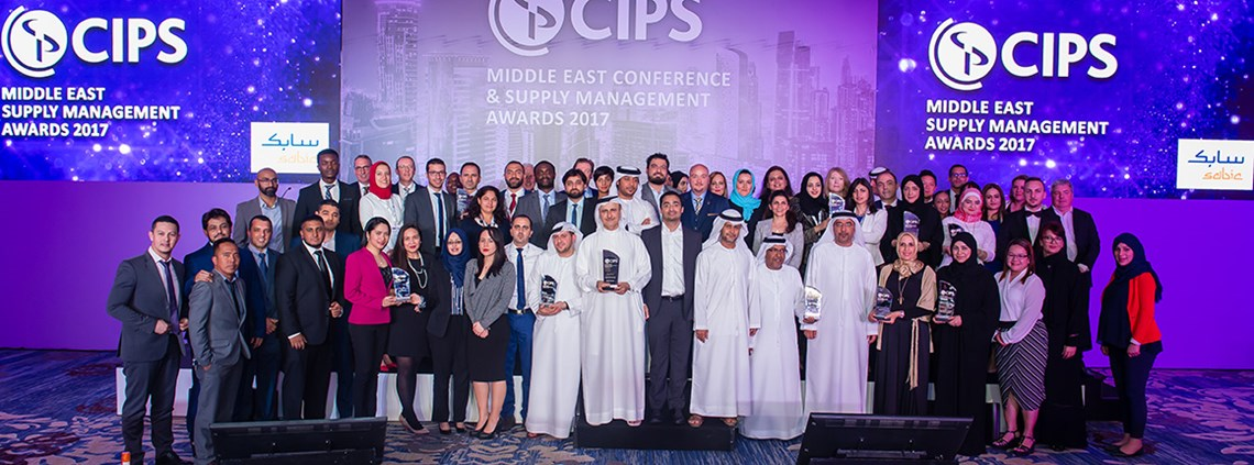 Another year of excellence: the winners of the 2017 CIPS Middle East Supply Management Awards