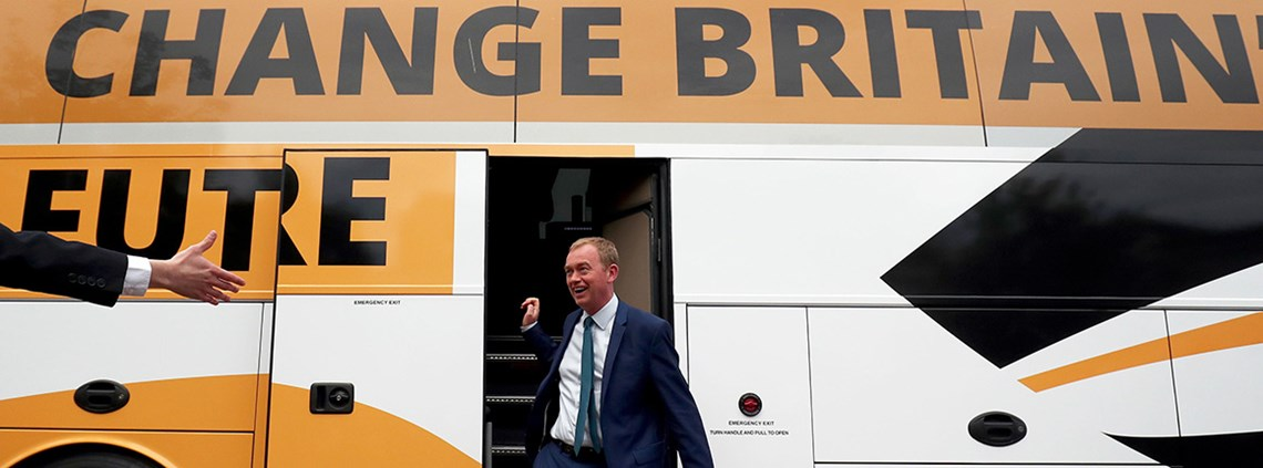 Liberal Democrats leader Tim Farron wants to devolve infrastructure spending ©PA Wire/PA Images