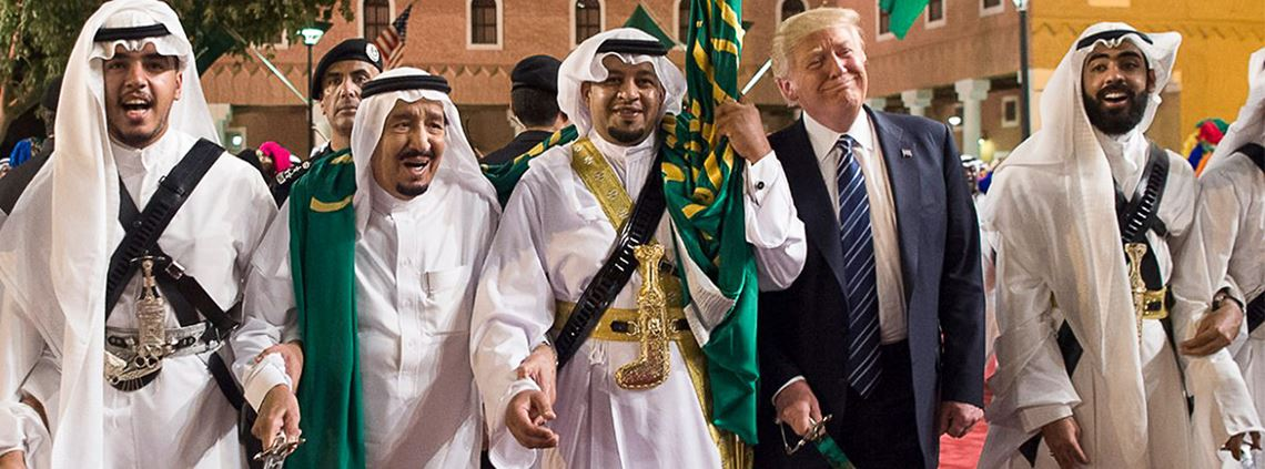 A number of deals were signed during president Trump's visit to Saudi, his first official trip abroad ©ABACA/PA Images