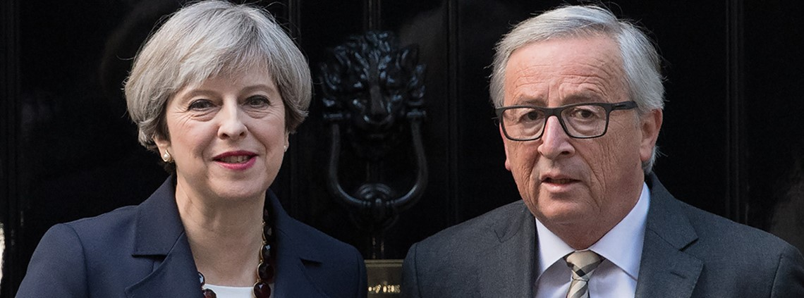 Jean-Claude Juncker was unimpressed with Theresa May's initial Brexit negotiation strategy. © Getty Images