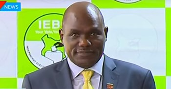 The electoral commission said Lawy Aura made operations untenable as elections were fast approaching ©KTN News Kenya
