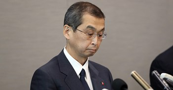 Shigeshisa Takda said filing for bankruptcy protection was the only way the company could carry on © AFLO/PA Images
