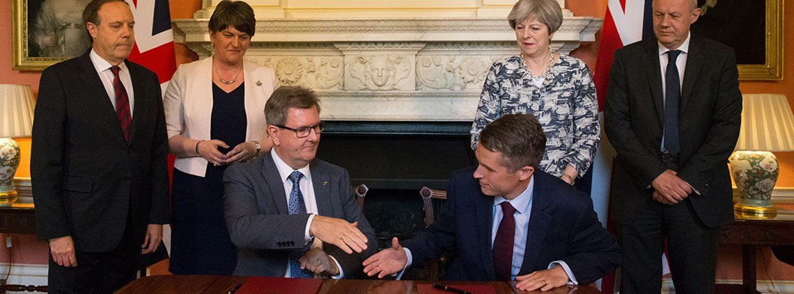 The DUP obtained a series of pledges for additional financial support for the Northern Ireland Executive © PA Wire/PA Images