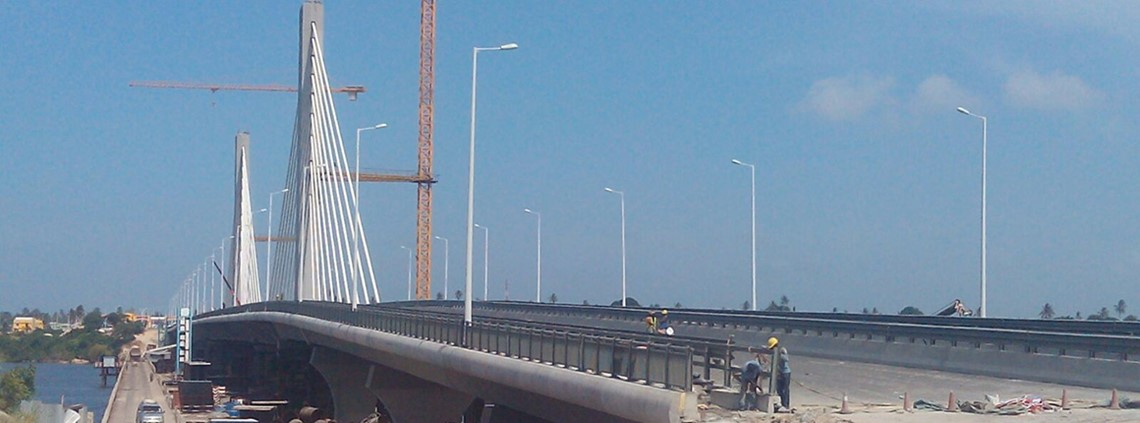 China was a major investor in the construction of the Kigamboni bridge in Tanzania. Credit: Miltonisaya