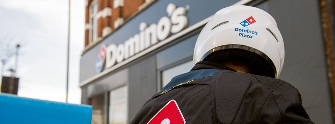 Domino's has switched to Pepsi-Schweppes as its new soft drink supplier © Domino's