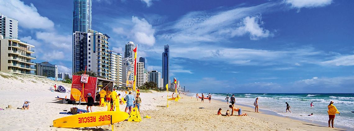 Queensland's Gold Coast will host the 2018 Commonwealth Games © Thomas Kurmeier/Getty Images