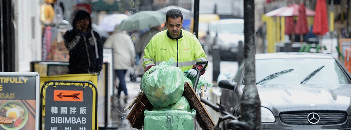 Creating clean streets involves more than simply procuring a cleaning service ©PA Images