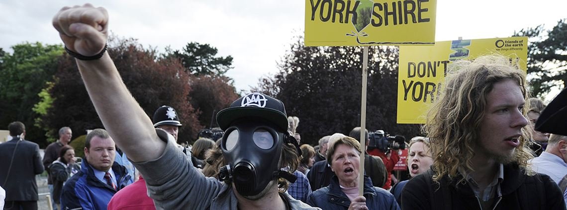 Fracking has been met with resistance by environmental and community groups ©PA Images