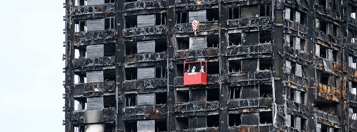 At least 80 people died in the Grenfell Tower fire © PA Images