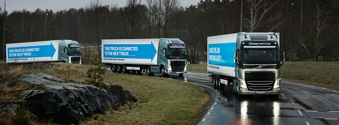 The technology has been welcomed as a possible answer to a growing shortage of lorry drivers