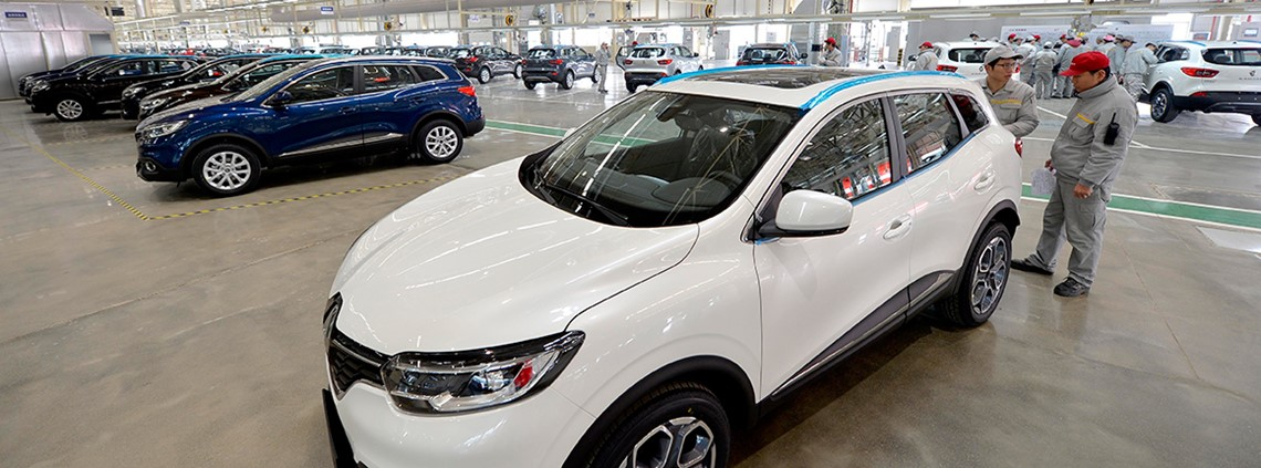 Dongfeng has already a partnered Renault to produce a number of their vehicles in China © Xinhua