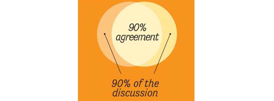 Procurement negotiations would benefit if more attention was paid to shared beliefs  ©lripsher